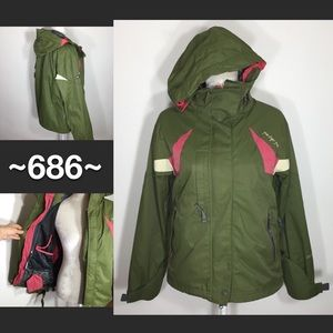 686 Brand Snowboard Jacket